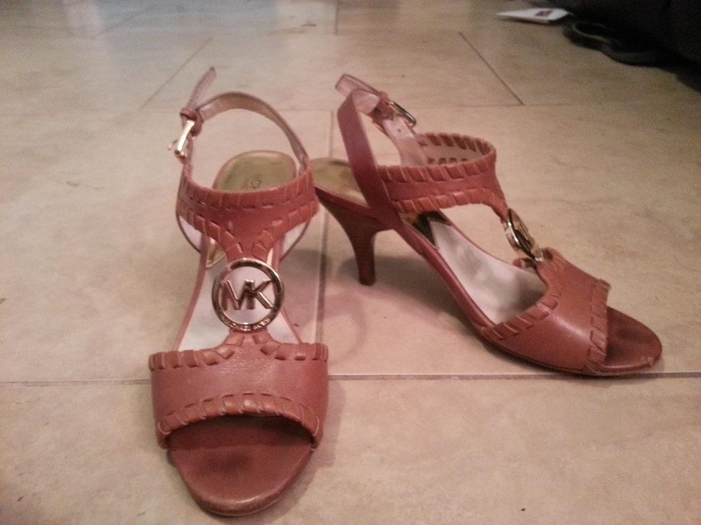 Camel Colored Michael Kors Sandals