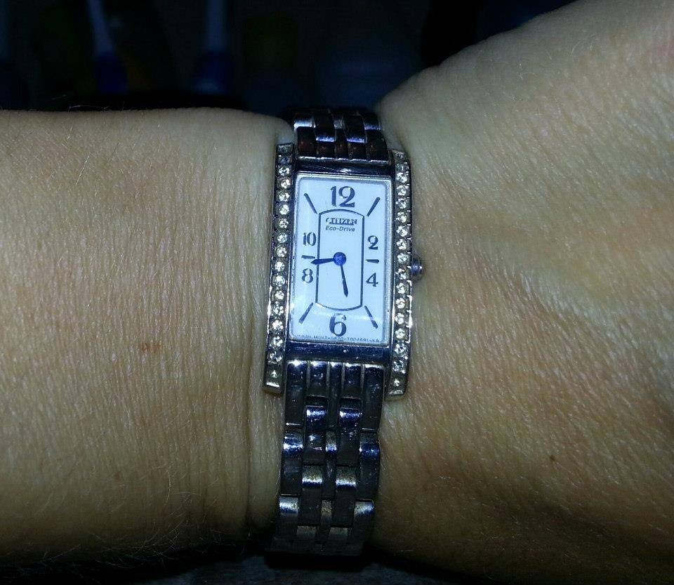 Stainless Steel Citizen Eco-Drive Ladies Watch