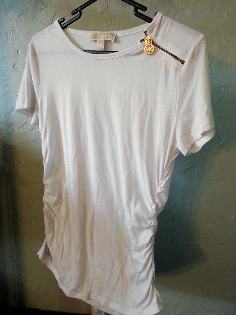 White Michael Kors Shirt