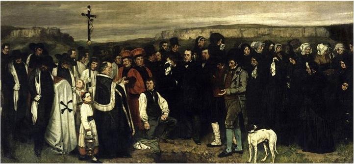 Burial at Ornans