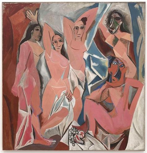 The Young Ladies of Avignon (Les Demoiselles d'Avignon)
