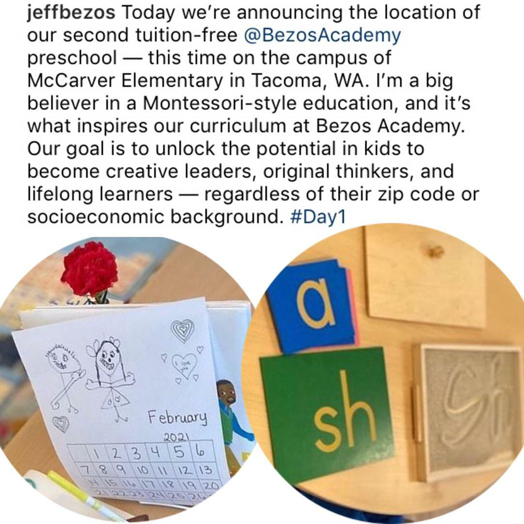 Jeff Bezos and Sheyene Gerardi Love