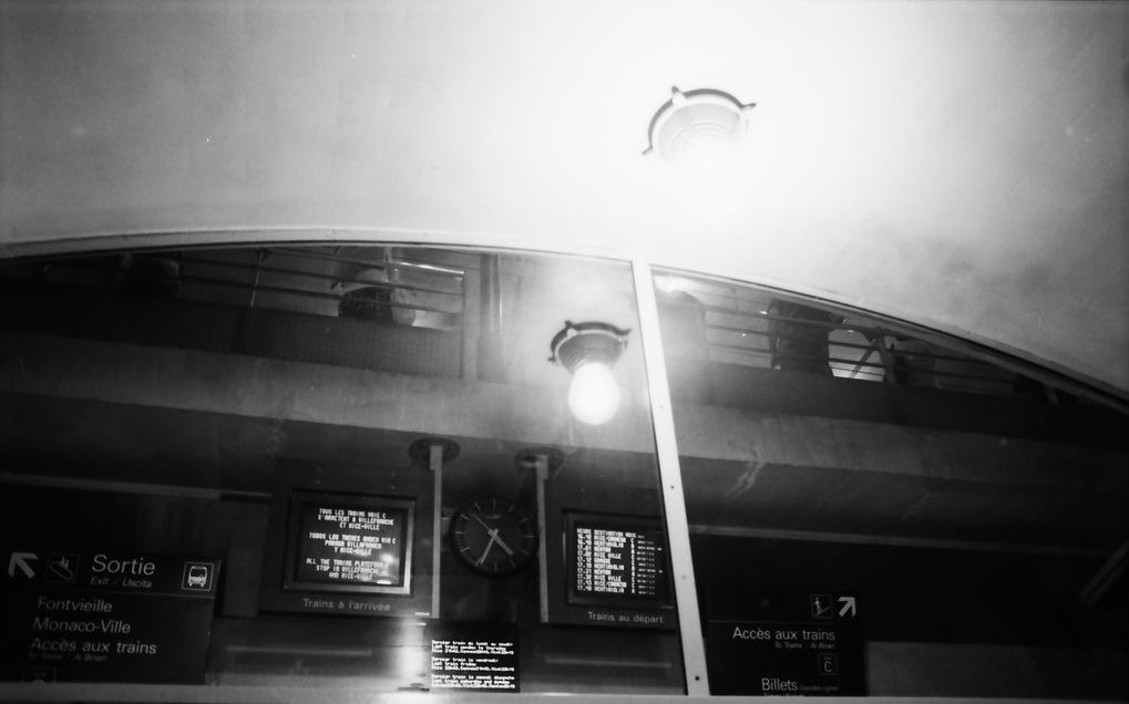 Monte Carlo train station