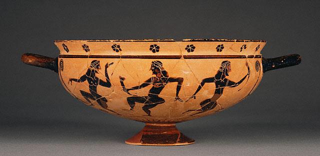 Black-Figure Komast Cup