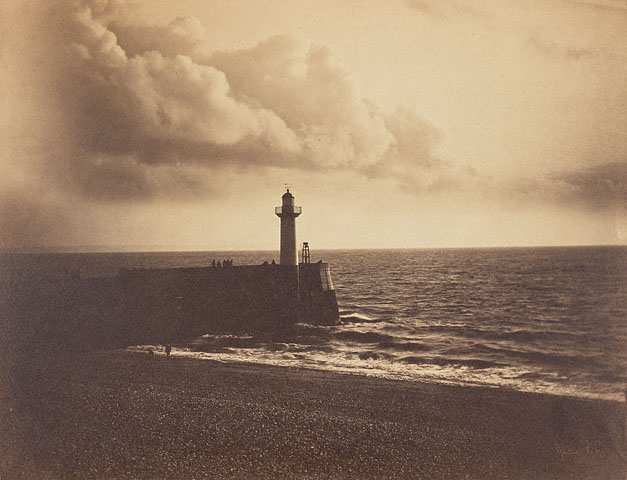 Lighthouse and Jetty, Le Havre