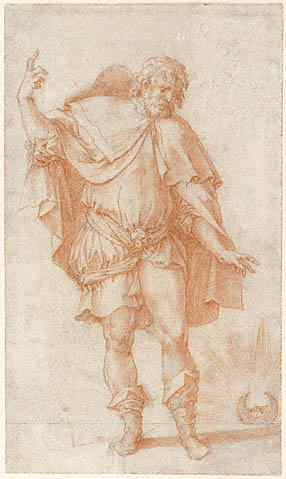 Study of a Male Figure