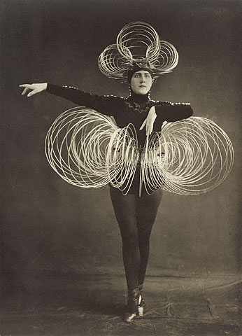 "Spiral Costume, from the ""Triadic Ballet"""
