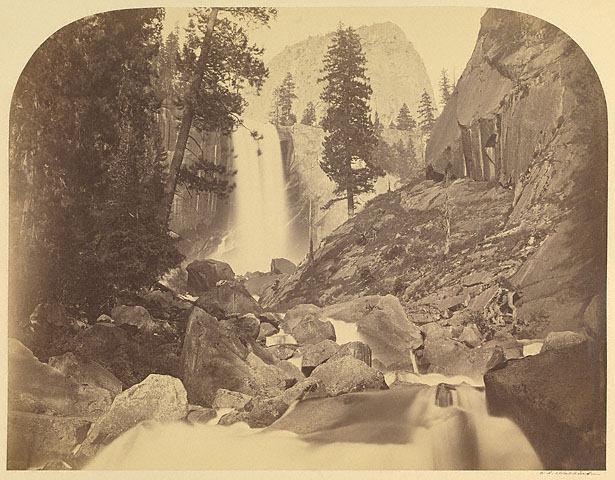 Vernal Fall, 300 Feet, Yosemite, No. 87