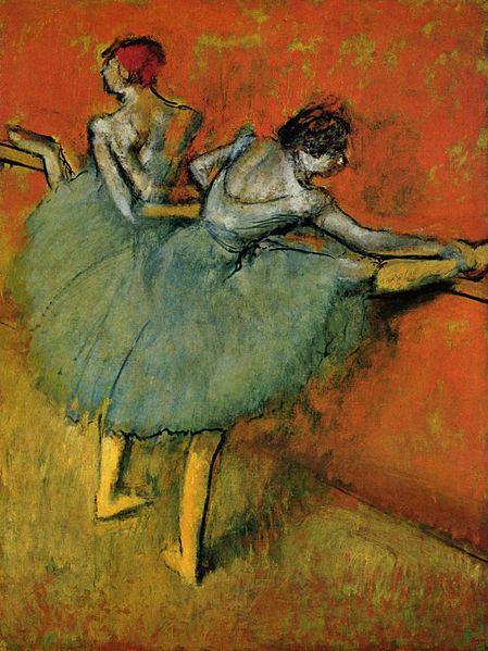 Dancers at the Bar