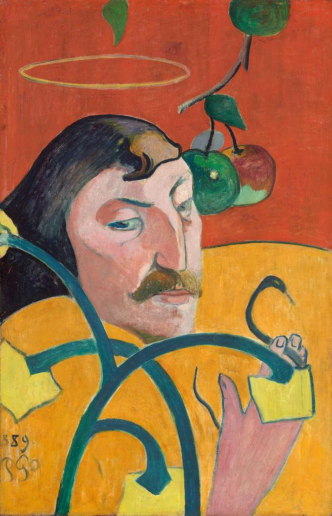 Paul Gauguin Self-Portrait