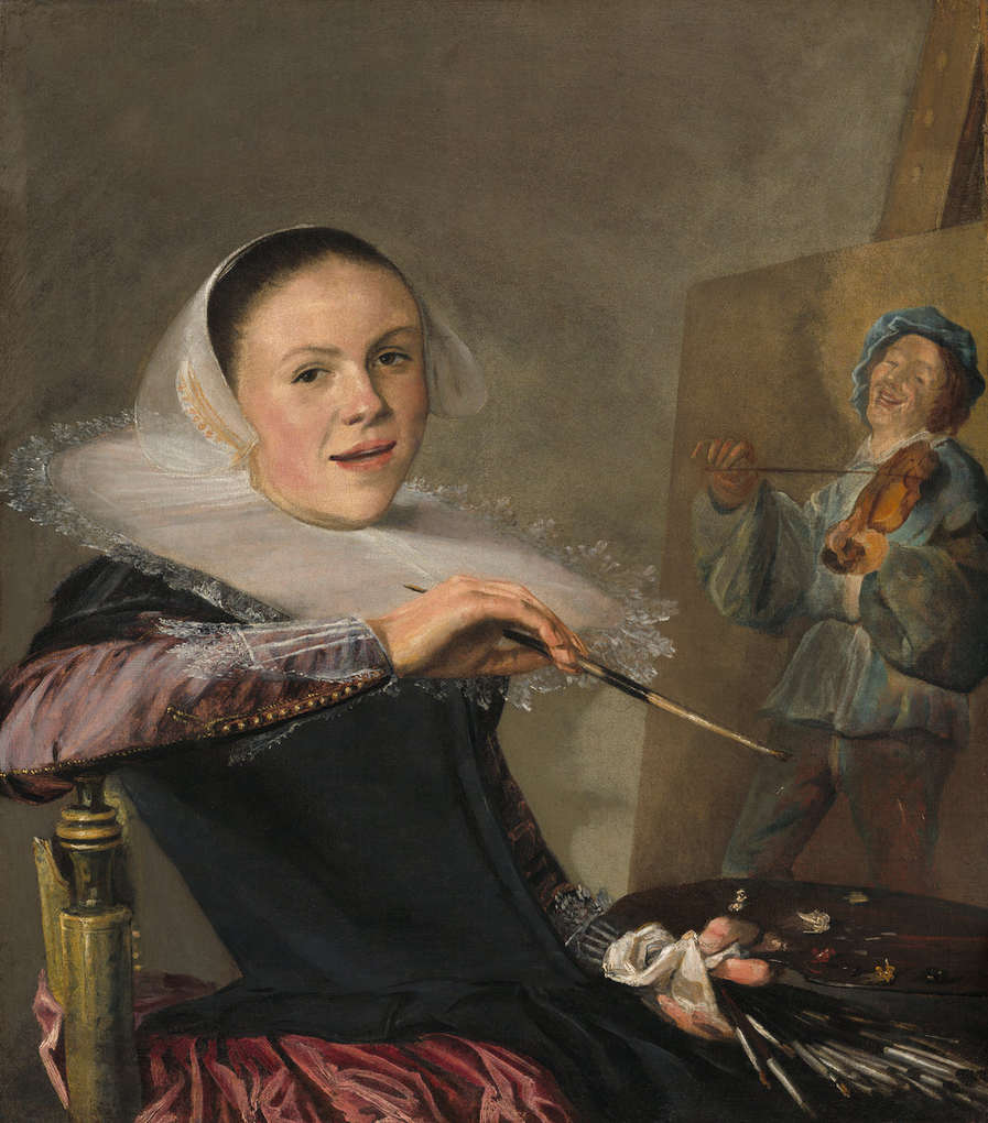 Leyster Self-Portrait