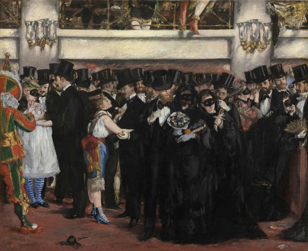 Masked Ball at the Opera