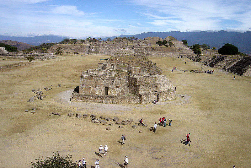 View of Monte Alban