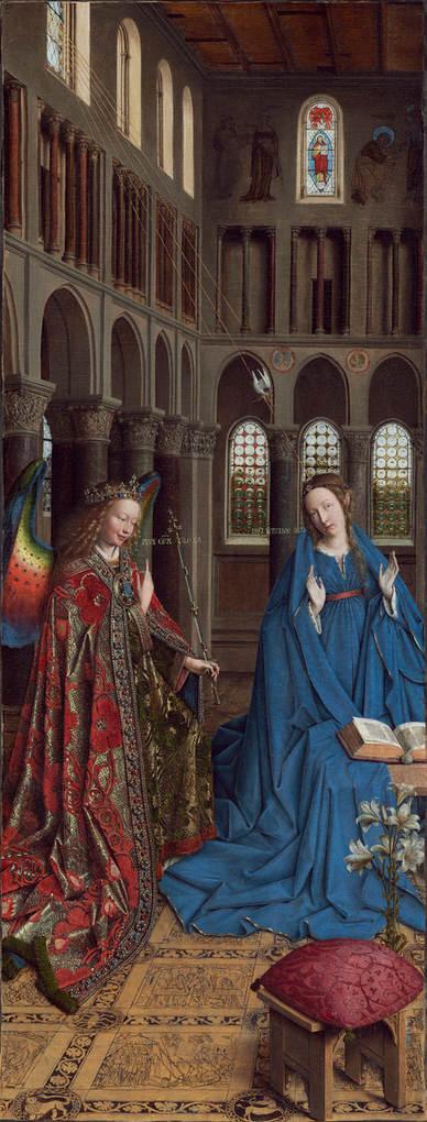 Jan van Eyck, The Annunciation