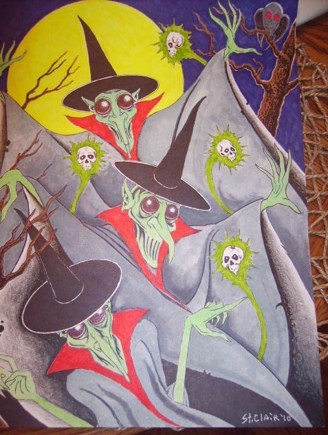 Alien Witches