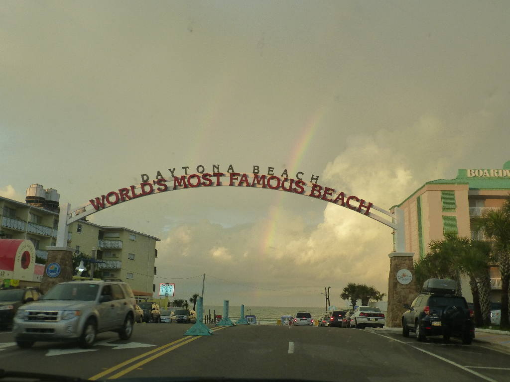 World's Famous Beach Sign at Daytona Beach