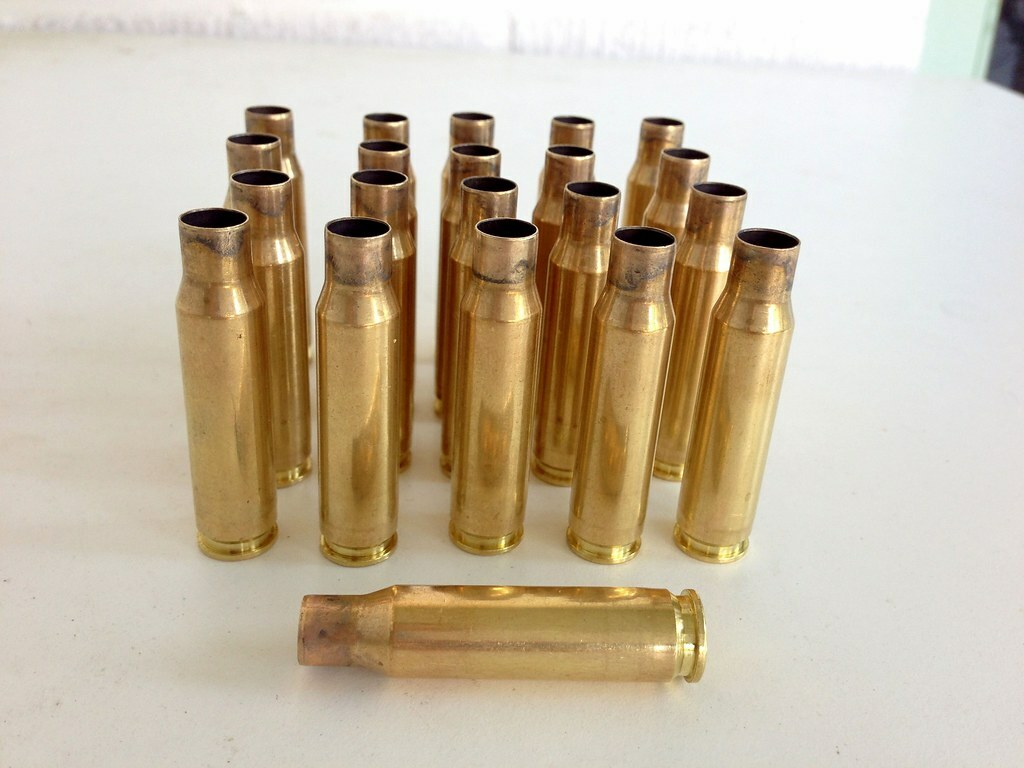 .308 Winchester / 7.62 mm NATO shell casings