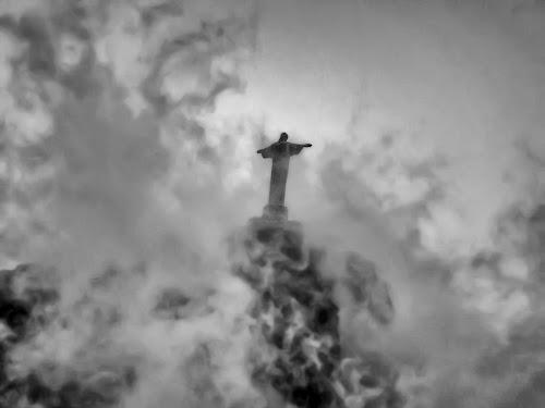 The Christ the Redeemer Statue above Rio de Janeiro