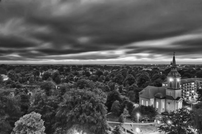 Storm over Aalborg