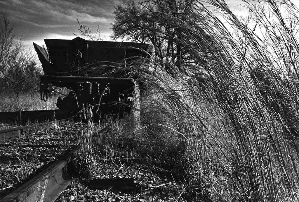 Old Railroad Car, Columbus KY, 1976