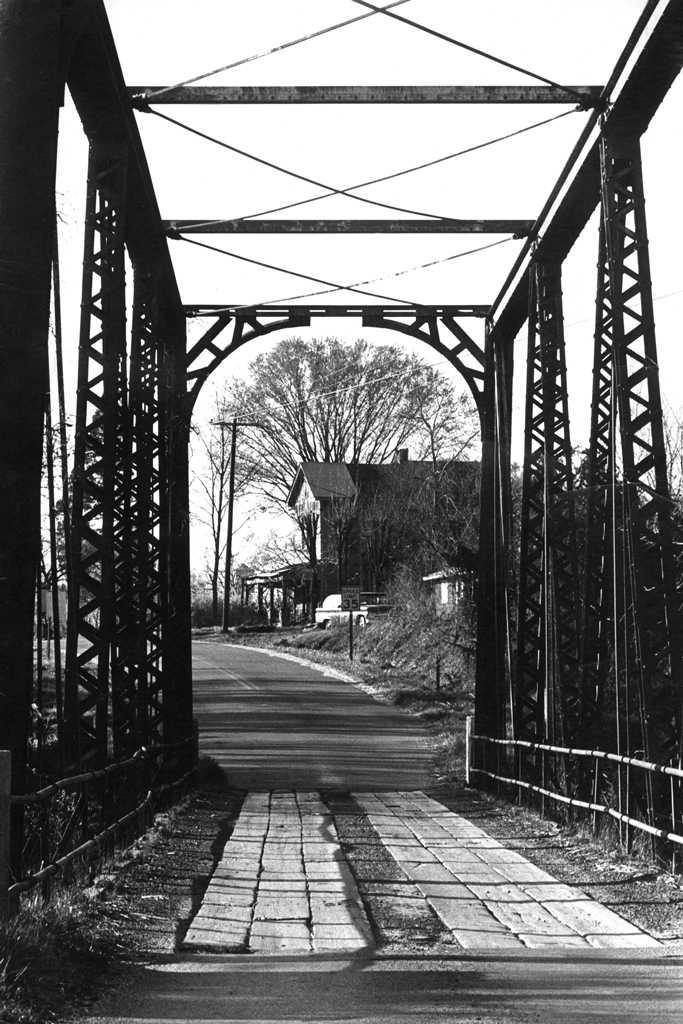 Iron Bridge, Columbus KY, 1976
