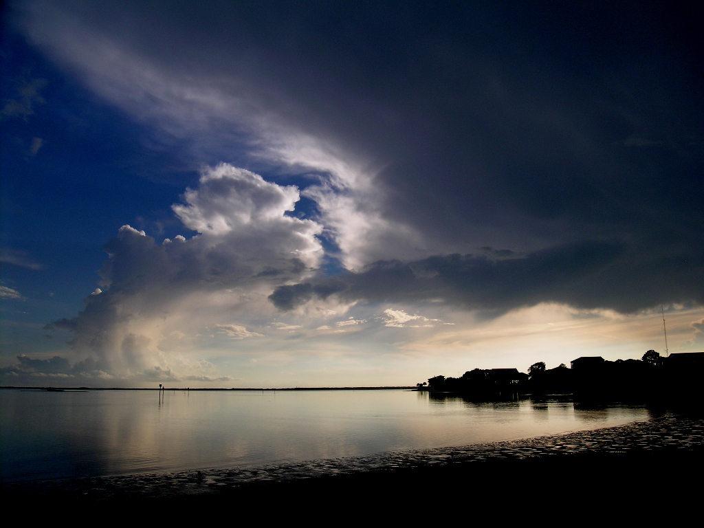 Sunset near Shell Point FL