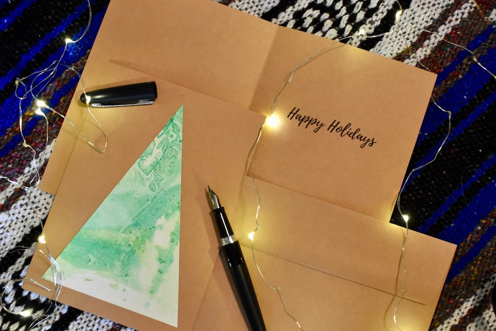 Handmade Holiday Cards by Christina Gates