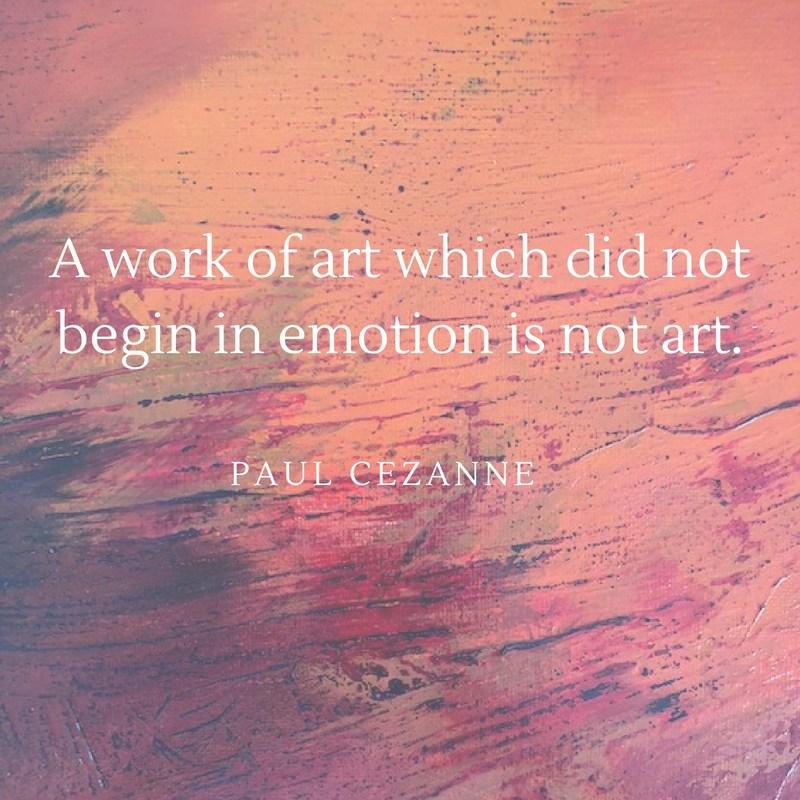 Cezanne quote