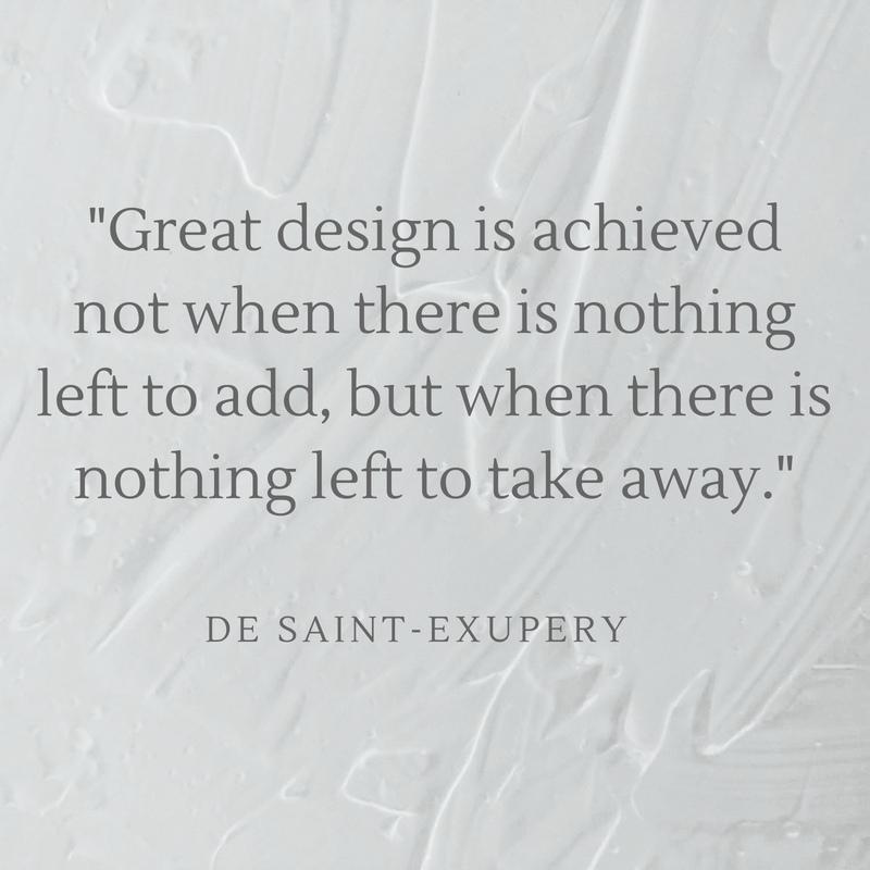 De Saint-Exupery Quote