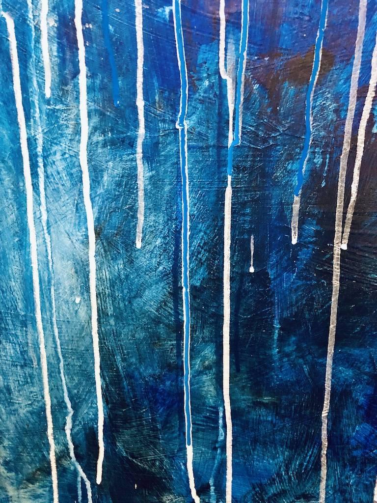 Acrylic Painting by Christina Gates