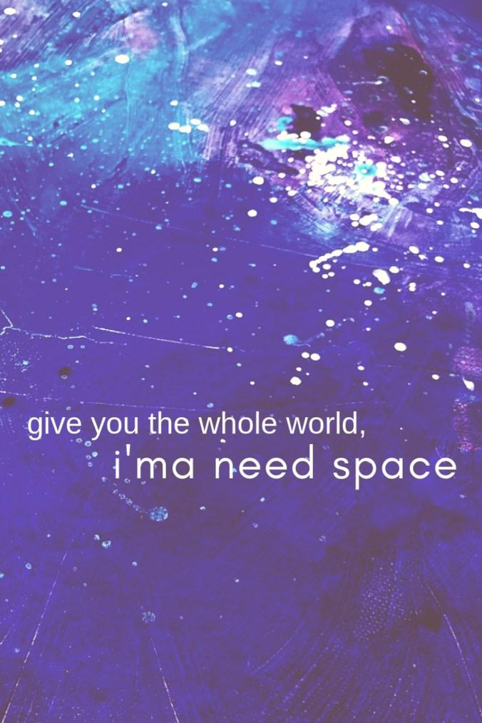 Ariana Grande Quote- NASA