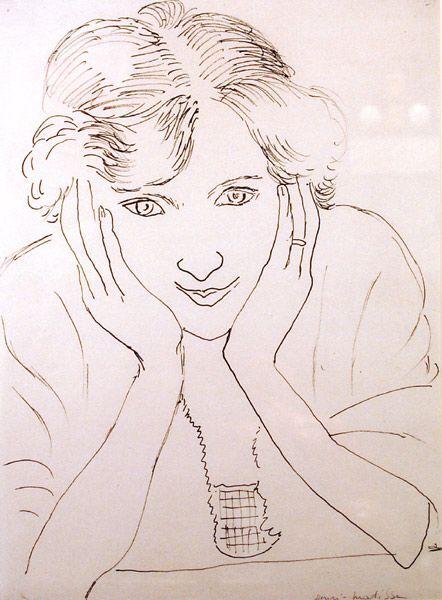 Portrait of the Artist's Daughter, Marguerite, 1925