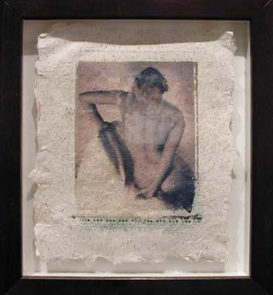 Figure Study On  Handmade Paper