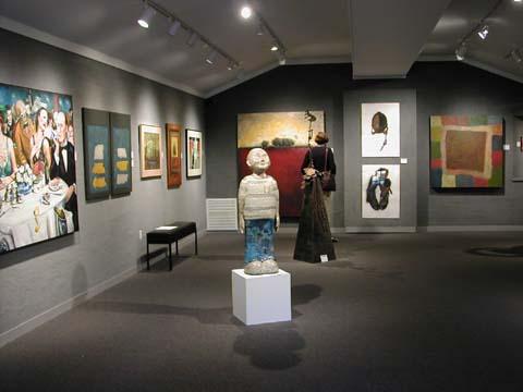 Artel Gallery View during 2002 Cinco Banderas Exhibit