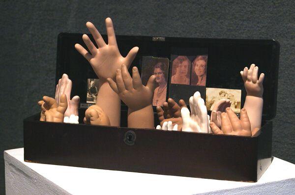 Hands for Joseph Cornell