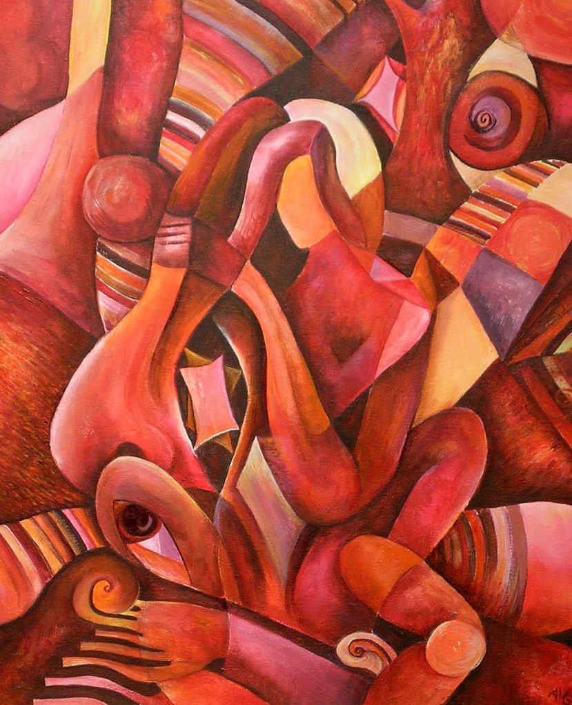 Cubist Woman