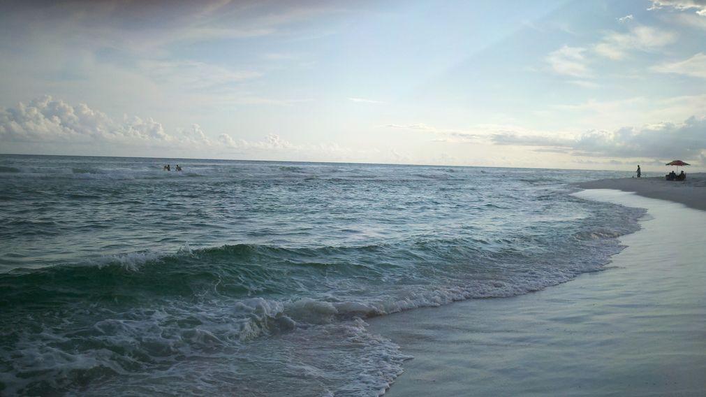 Navarre Beach at Dusk
