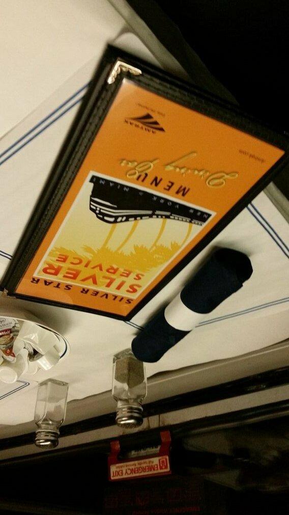 Amtrak Silver Service dining car