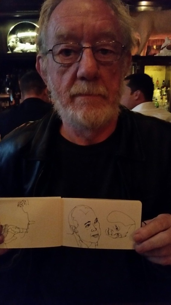Pat Sketches in NYC