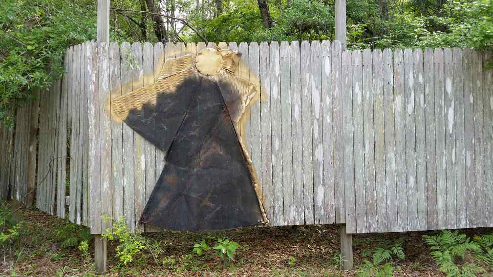 Angel on the Fence