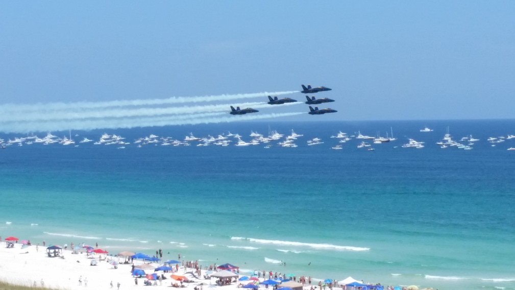Blue Angels on Blue Angel Day - 2015