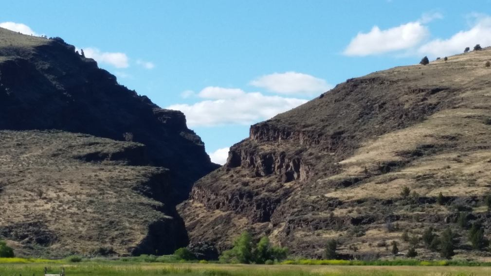 Picture Gorge near Dayville, Oregon