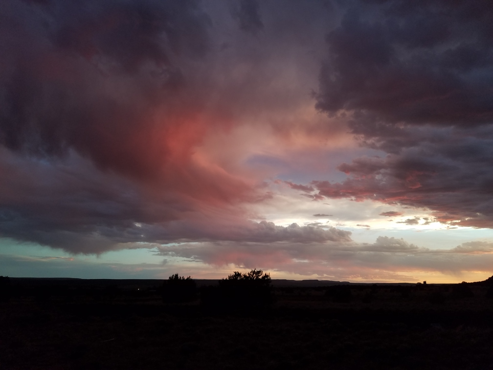 new Mexico summer solstice sunset