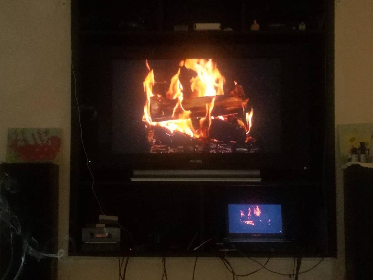 Yule Log TV