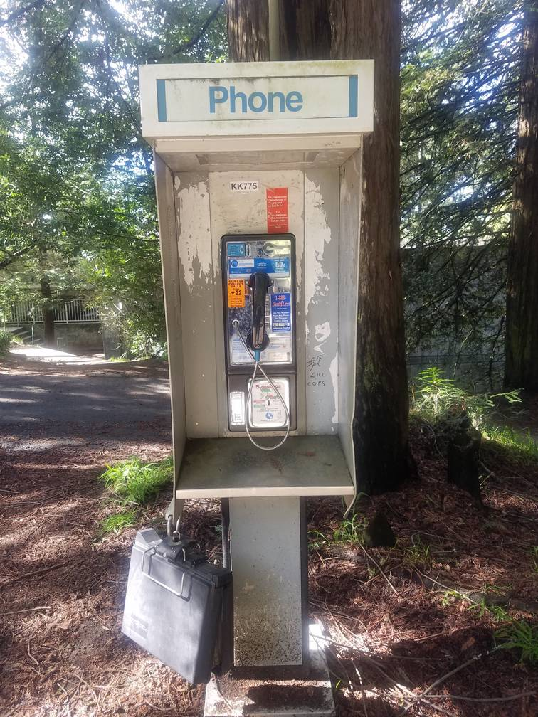 Working Phone Booth