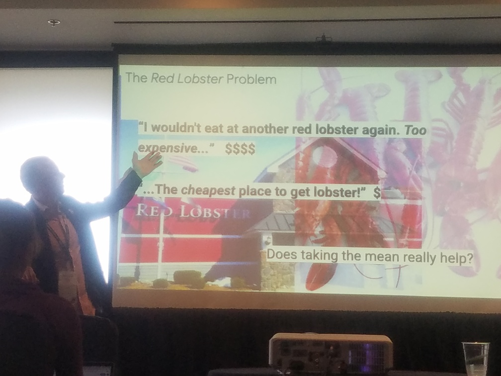 Chris Welty and the red lobster problem