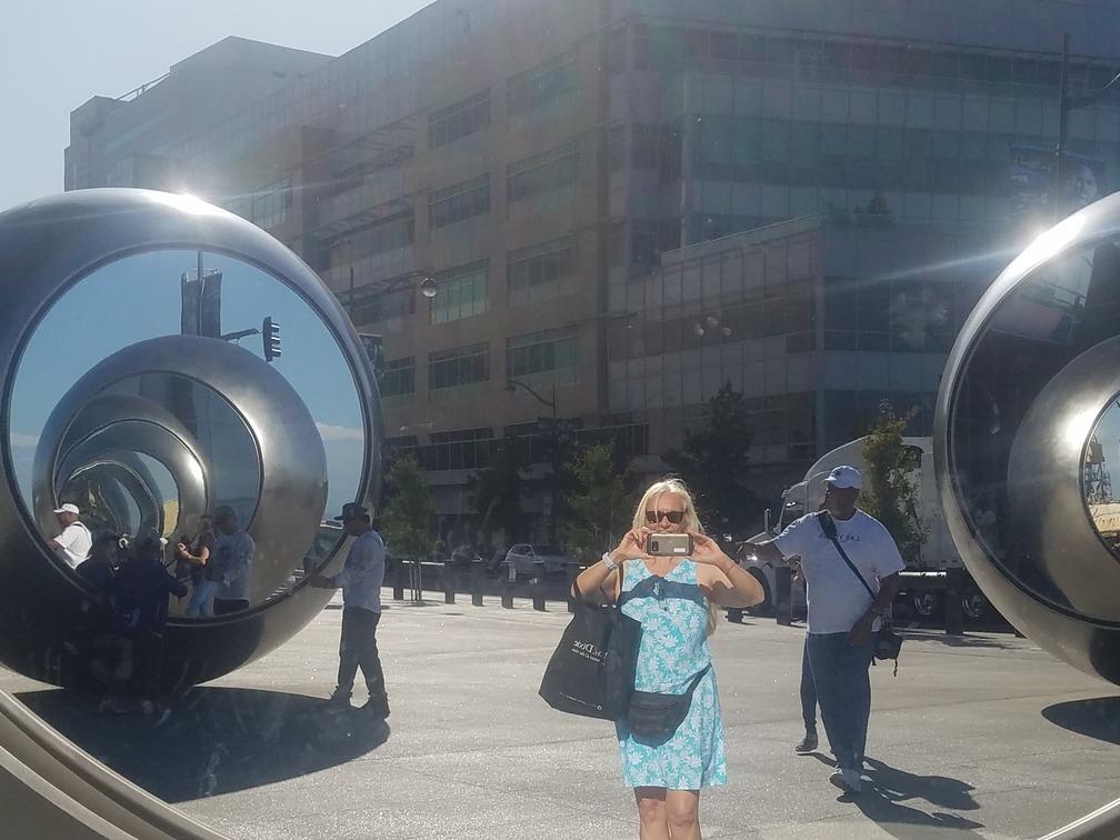 walking among the spheres