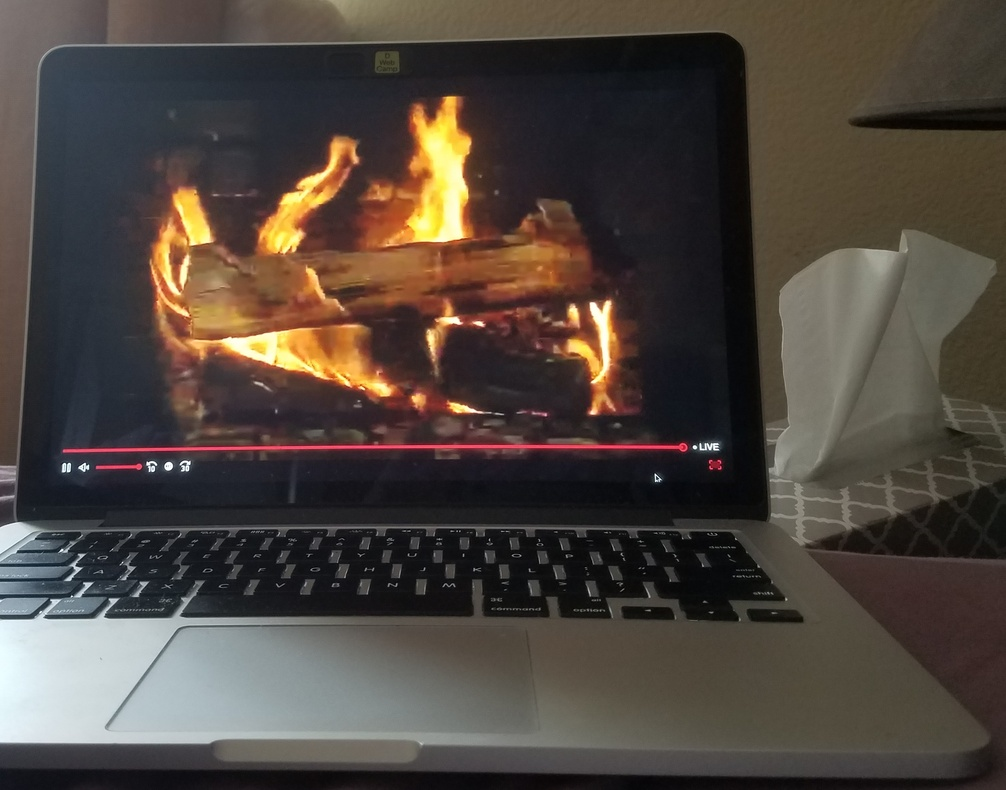 Classic Yule Log Video