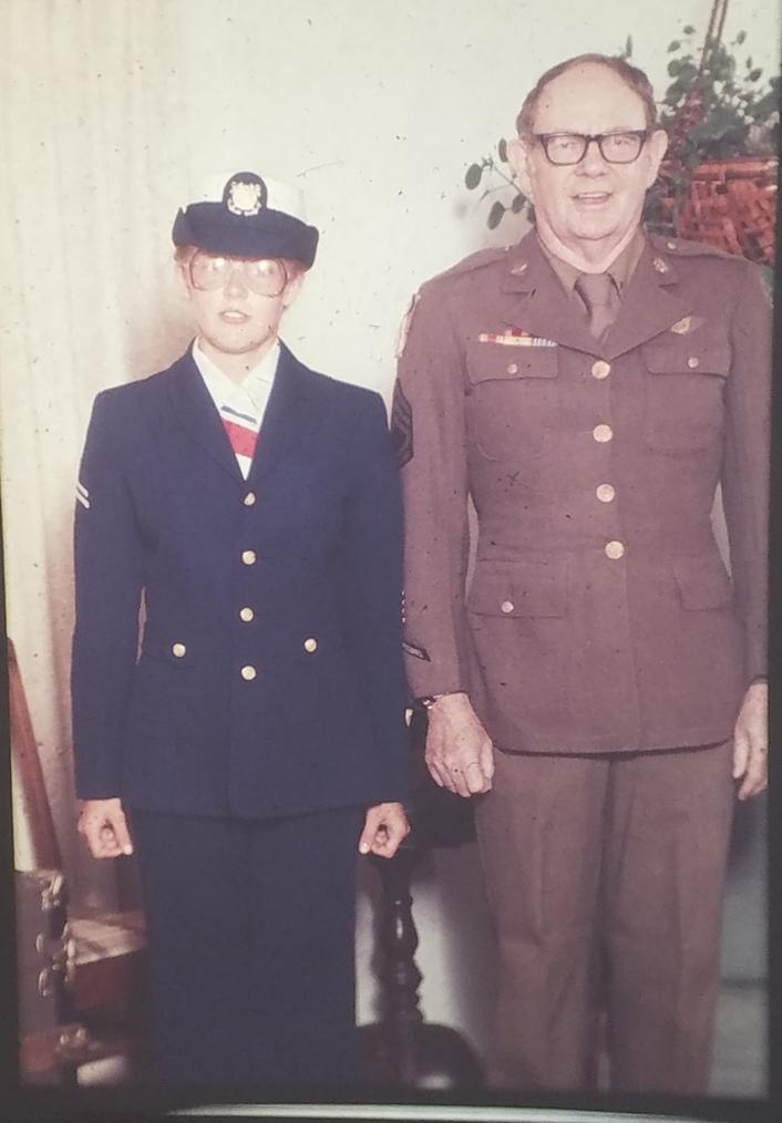 Margaret Warren and her Grandfather Earl Warren