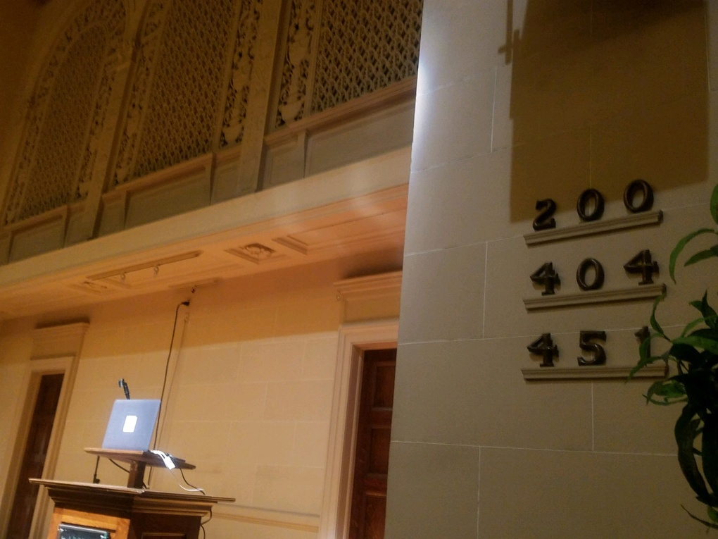 HTTP status codes on the wall at the Internet Archive